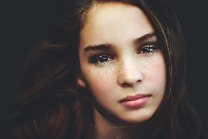 Alyssa by lisablevins - Faces With Freckles Photo Contest