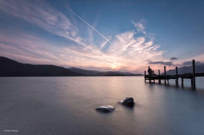 Sunset Fishing on Derwentwater by Paul-Stapleton - Boardwalks Photo Contest
