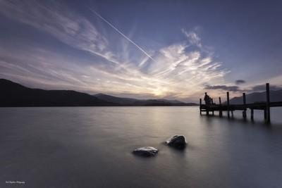 Sunset Fishing on Derwentwater