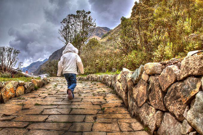 Walking girl by WadihAnton - Life And Freedom Photo Contest