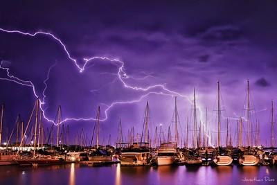 Lightning Storm over Manly