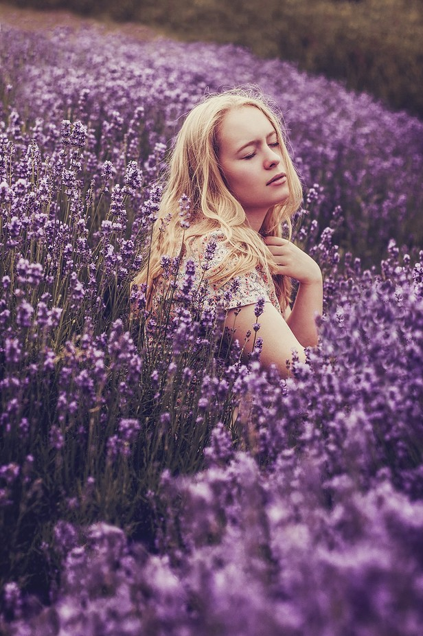 Seelenlandschaft #32 by levinlee - Shades Of Purple Project