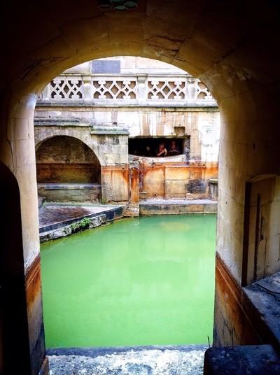 Roman Bath archway