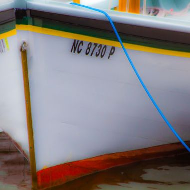 Built by volunteers of the North Carolina Maritime Museum, she was completed in 2000 and is an example of a shad boat which was a traditional working boat.