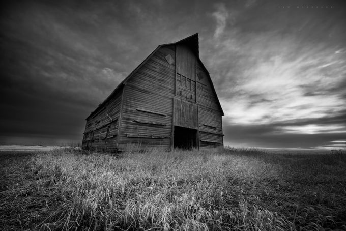 The Sentinel by IanDMcGregor - Structures in Black and White Photo Contest