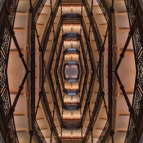 A strange and Escher-esque view of a Milwaukee landmark.  See the full image and read more about it here: http://bit.ly/29692qx  Day 270 of my 36...