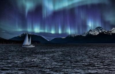 Sailboat Alaska Sky