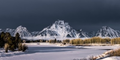 Storm Clouds Oxbow Bend