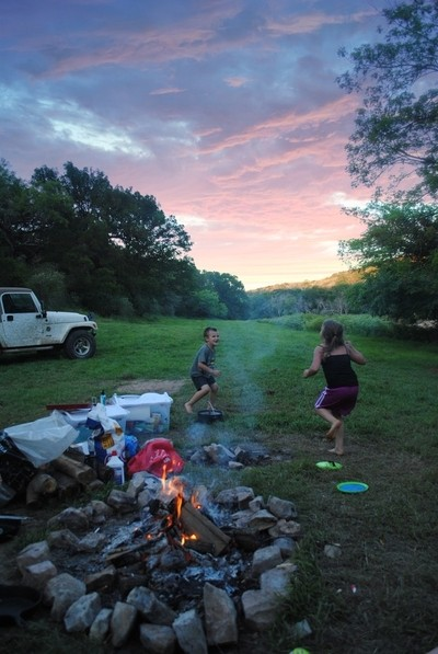 Sunsets and camping