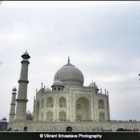 Taj Mahal is considered as seven wonders of the world.It was built bt Shahjahan. The most visited site in India.