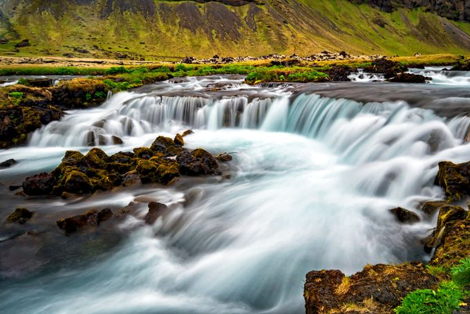 icelandwaterfall by senanic - Long Exposure In Nature Photo Contest