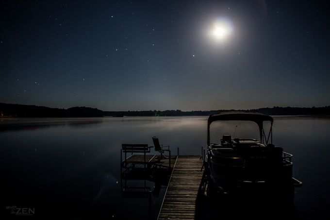 The Dock at Night by MostlyZenPhotography - The Moonlight Photo Contest