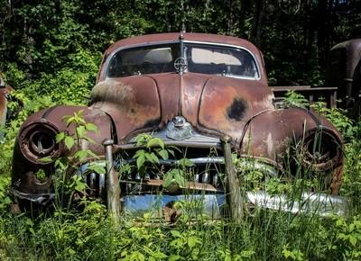 Abandoned Vehicle #587