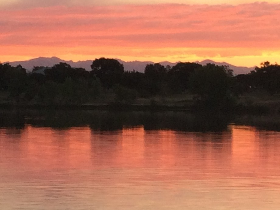 Went for a walk on Fathers Day with my family, it was a beautiful evening. What a sunset!
