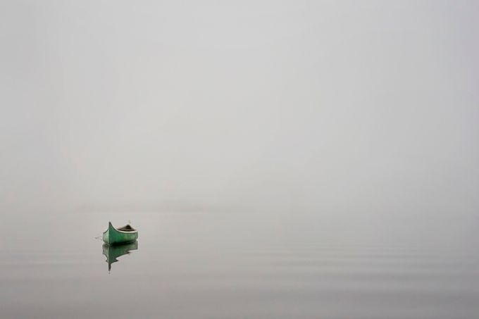 alone in the foggy archipelago by dieterberghmans - Ships And Boats Photo Contest