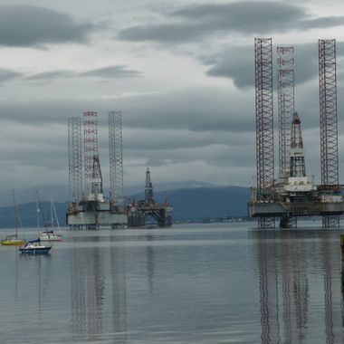 3 little, 3 LARGE @ The Cromarty Firth