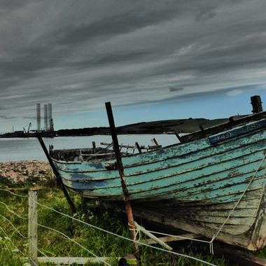 Old and New by the waterside at Cromarty and Nigg