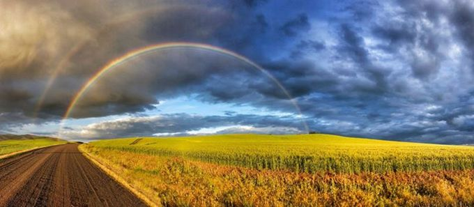 Almost by tomtyson - Rainbows Overhead Photo Contest