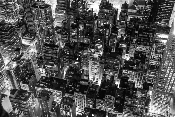 NY by mityaika - A Black And White World Photo Contest