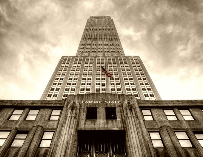 Empire State Building New York by Jason_Hayes - Tall Structures Photo Contest