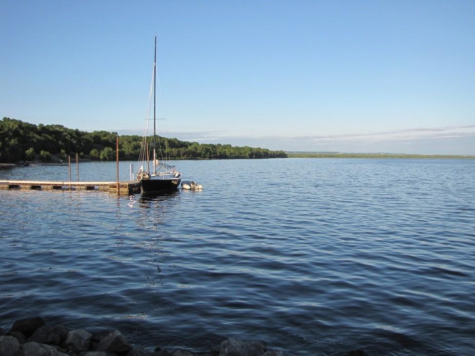 Pepin Lake sailboat