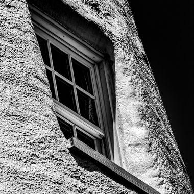 Ocracoke Light Window