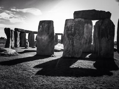 Sun on Stonehenge