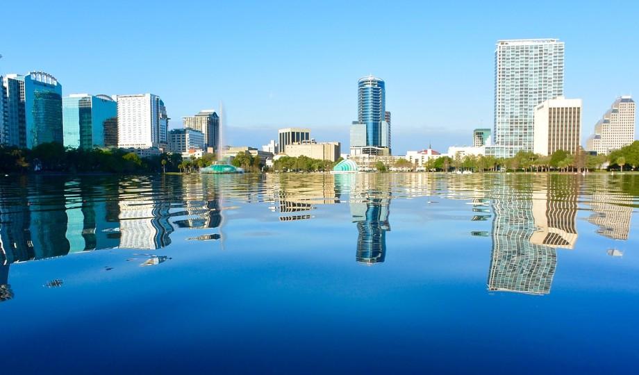 """Home"" My city Downtown Orlando Fl Lake Eola"