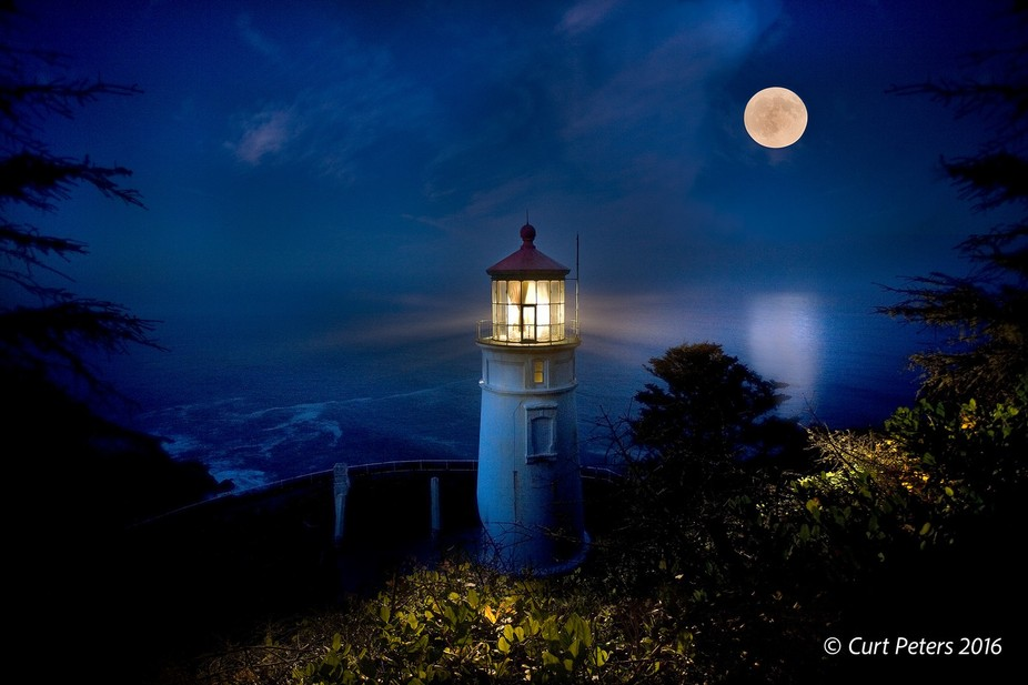 Heceta Head Lighthouse, Florence Oregon.