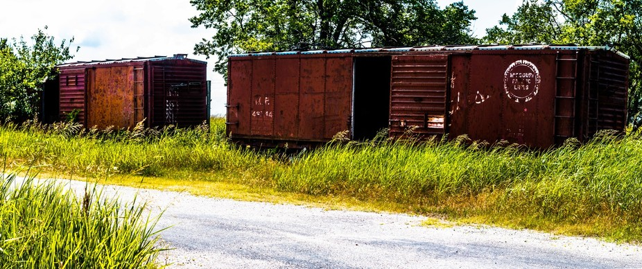 Train Cars In Fore Acer