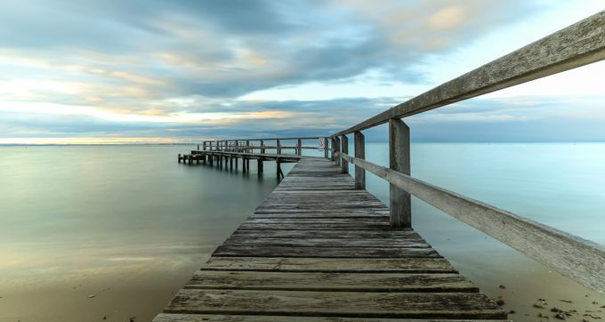 Shelley Pier, Portsea by susanzentay - Promenades And Boardwalks Photo Contest