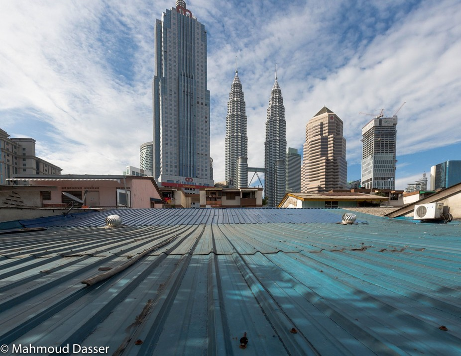 This is a View from the otherside on Petronas Twin Towers