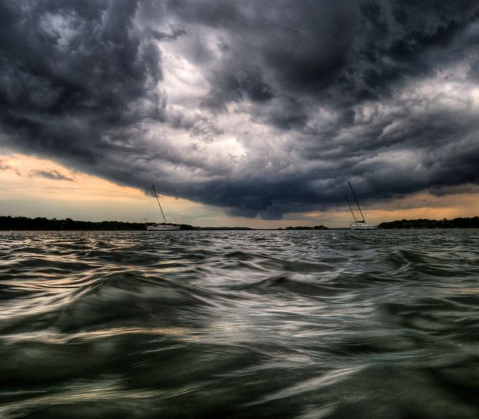 Storm Front on Eve of Good Friday  by jimcrotty - 500 Stormy Clouds Photo Contest
