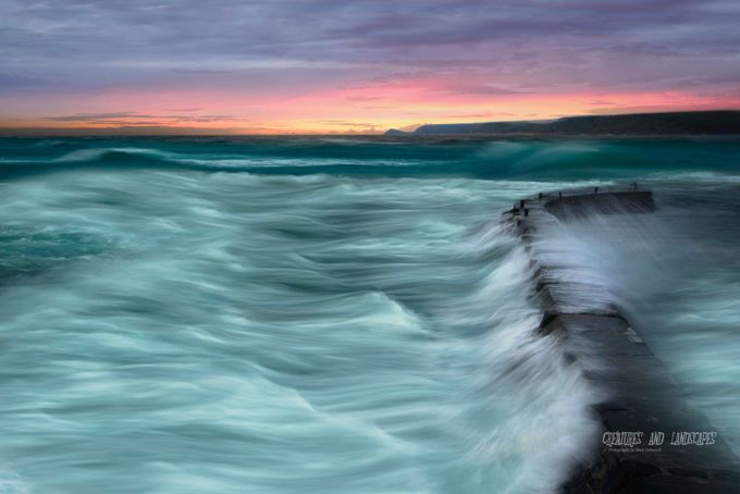 Overflow! by WildSeascapes - Color Theory Photo Contest