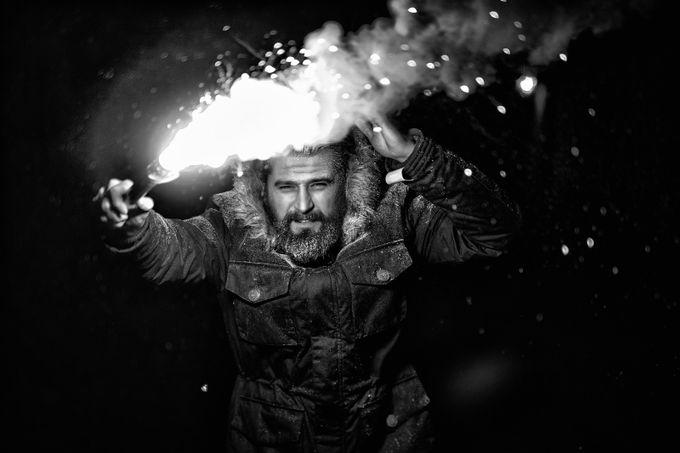 In a dark by katarzynamwiskajaboska - People At Night Photo Contest