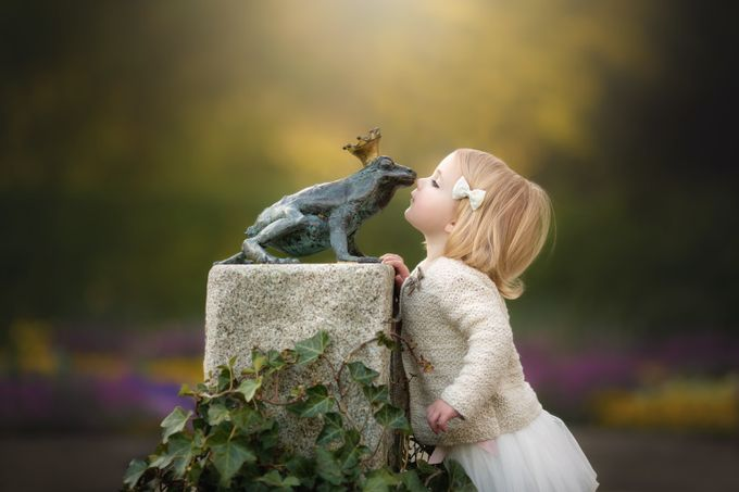 The Frog Prince by tatjanakaufmann - Kids With Props Photo Contest