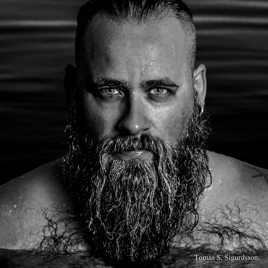 Self Portrait by tomassigurdsson - Beards and Mustaches Photo Contest