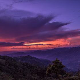 My last day in Baguio City, Philippines. Shot this on Marcos Highway, I simply couldn't miss this beautiful sight.