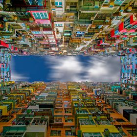 The Yick Fat building in Hong Kong