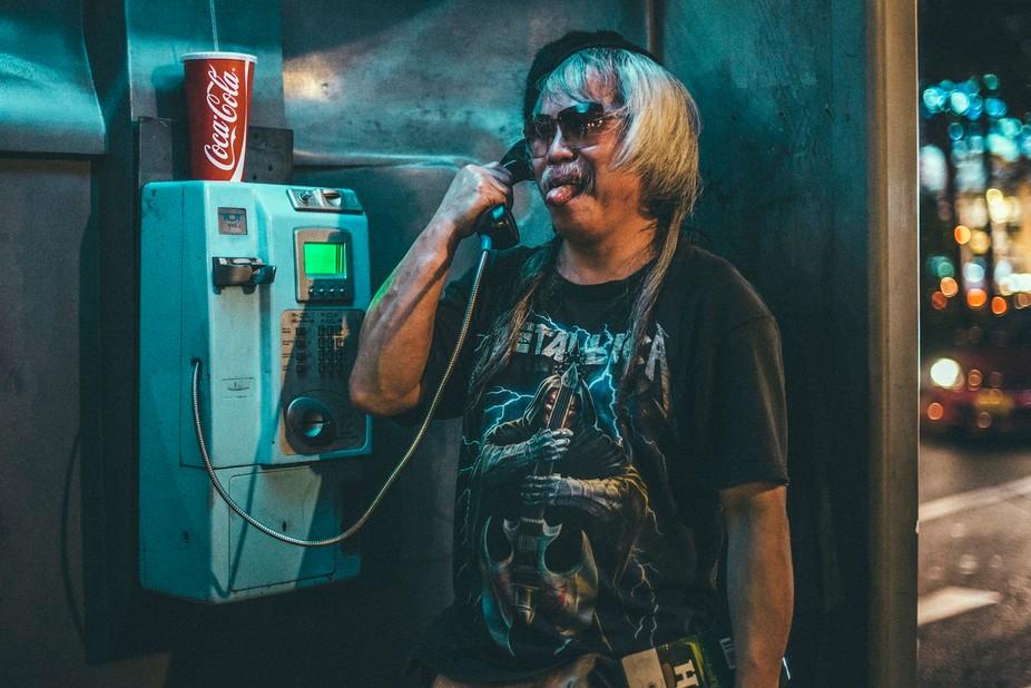 Bangkok Phone Booth