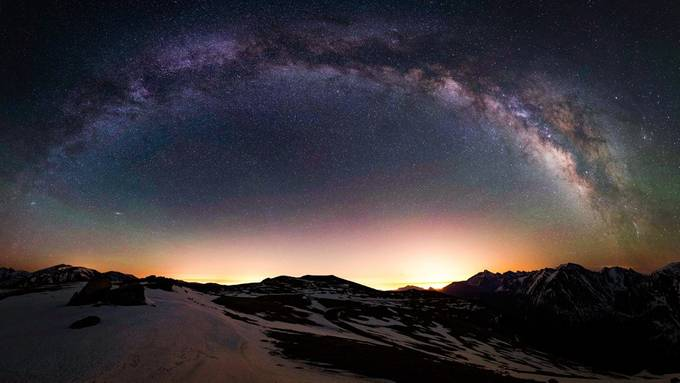 Over Trail Ridge Road  by rickgleason - The Milky Way Photo Contest
