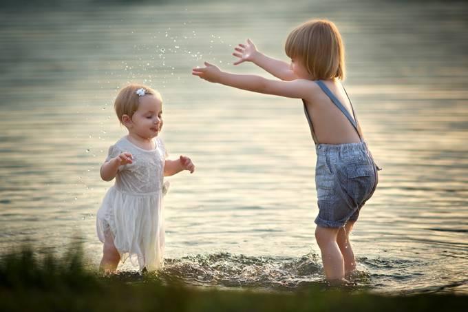 Splash by tatjanakaufmann - Kids And Water Photo Contest