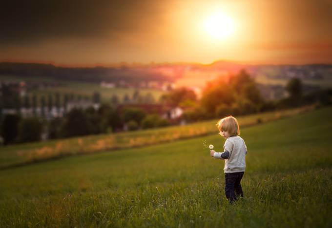 Sunset by tatjanakaufmann - People In Large Areas Photo Contest
