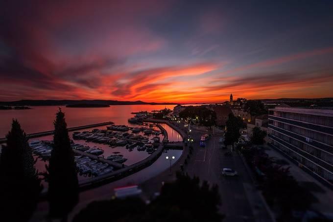Biograd by zarkopiljak - City Sunsets Photo Contest