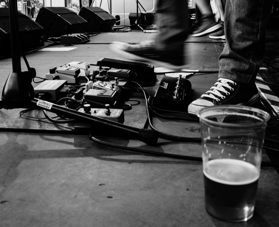 Pedals and beer