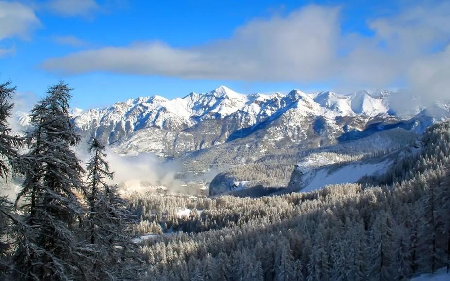 Rockies in the Winter