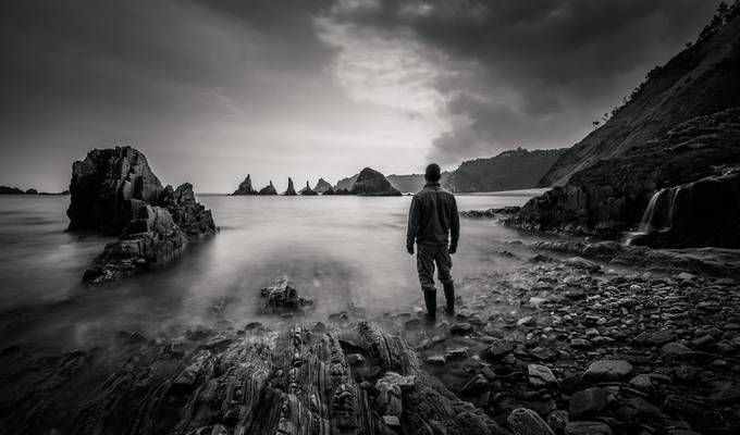 Surrounded by nature by JesusSanz - Black And White Landscapes Photo Contest
