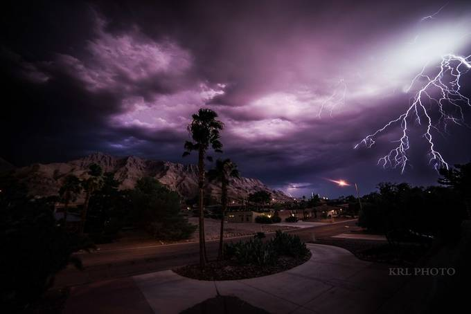 Stormy Night by KRL_Photo - Creative Travels Photo Contest