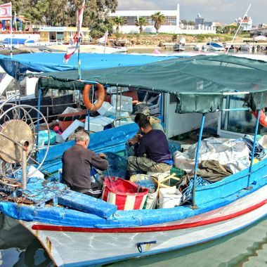 I took this photo when me and my wife went to a fishing village (İskele Boğaz), to have breakfast in the morning. This is one of the photos that I took while I was there.