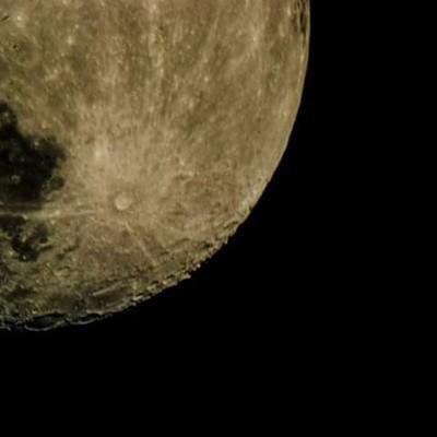 Bottom of the moon